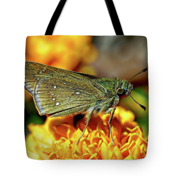 Tote Bag featuring the photograph Small Branded Swift by Anthony Dezenzio