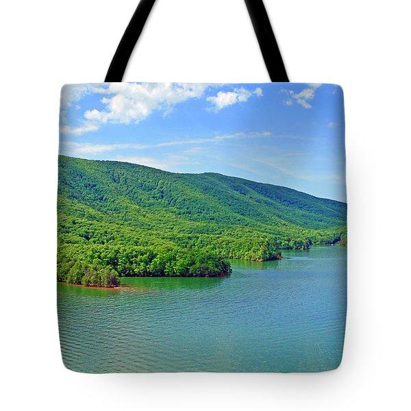 Smith Mountain Lake Tote Bag