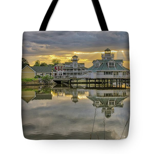 Smithfield Station With God-light Tote Bag
