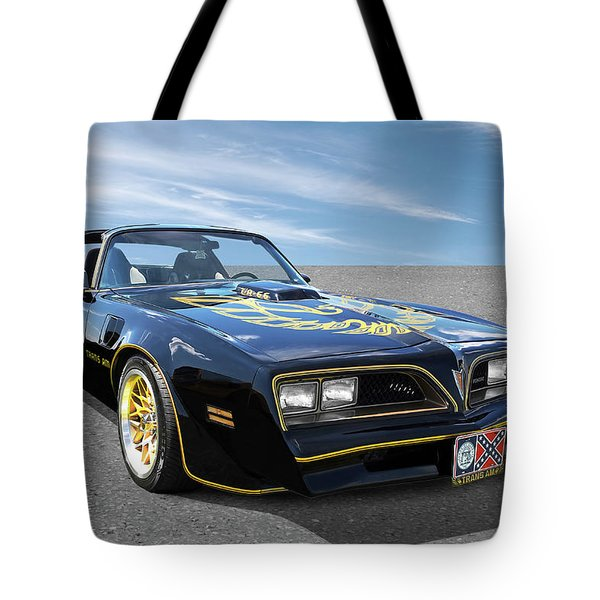 Smokey And The Bandit Trans Am Tote Bag
