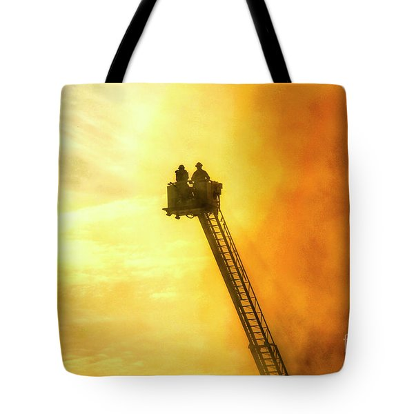 Smokey Blaze Tote Bag