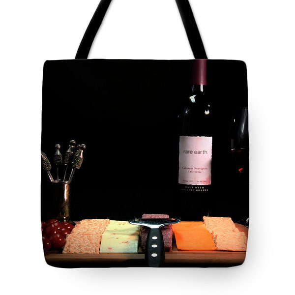 Snacks Are Served  Tote Bag