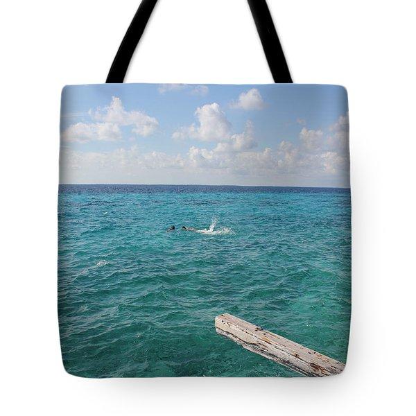Snorkeling Tote Bag