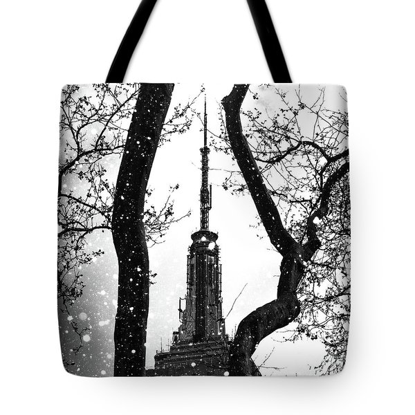 Snow Collection Set 07 Tote Bag