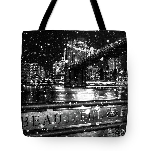 Snow Collection Set 09 Tote Bag