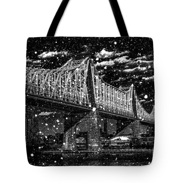 Snow Collection Set 10 Tote Bag