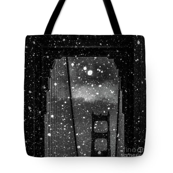Snow Collection Set 12 Tote Bag