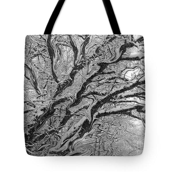 Snow Melt Tote Bag