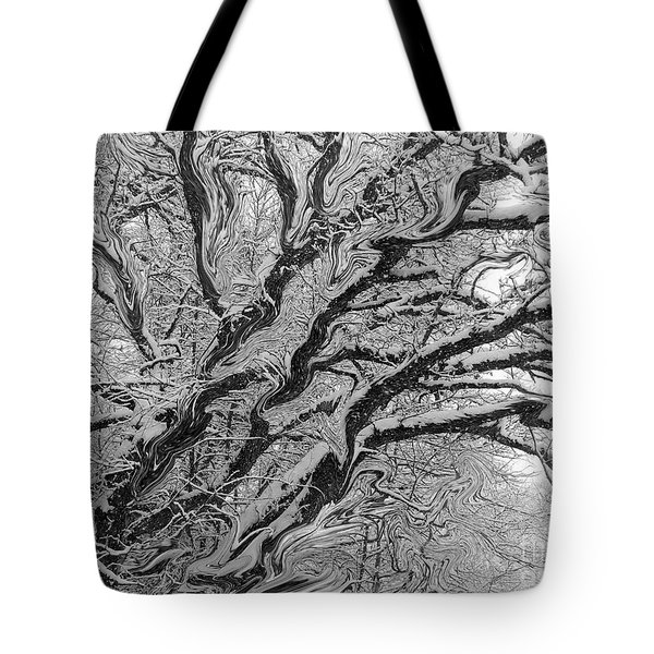 Snow Melt Tote Bag