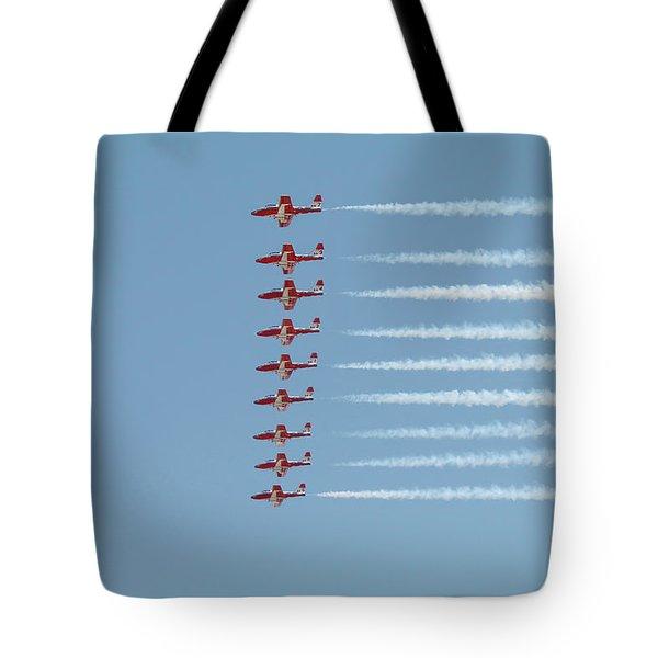 Snowbird Line-up Tote Bag