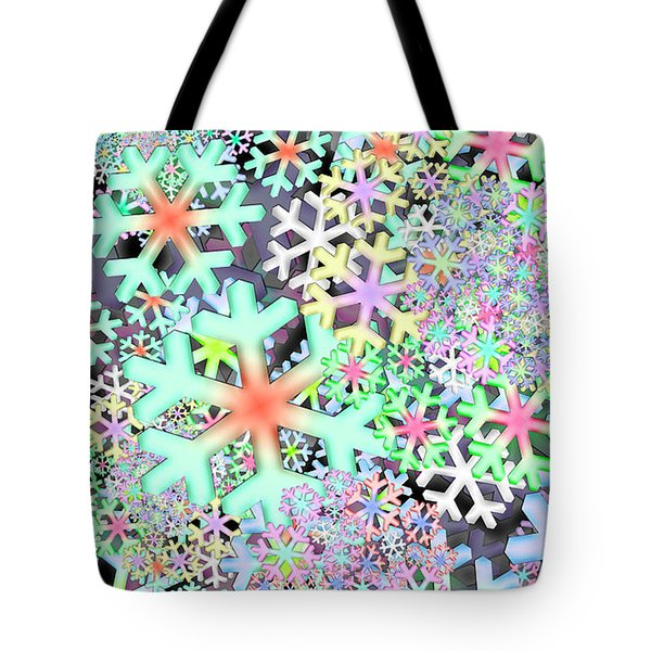 Snowflake One Remix One Tote Bag