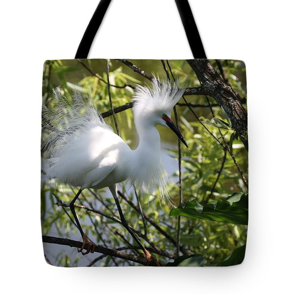 Snowy Egret 4031202 Tote Bag