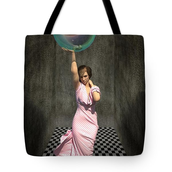 Soap Bubble Tote Bag