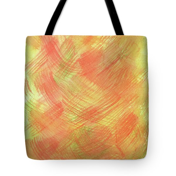 Soft Orange Colors 2 Tote Bag