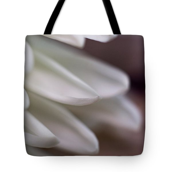 Soft White Petals-1 Tote Bag