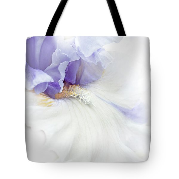 Softness Of A Lavender Iris Flower Tote Bag