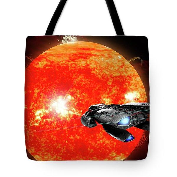 Solar Explorer Tote Bag