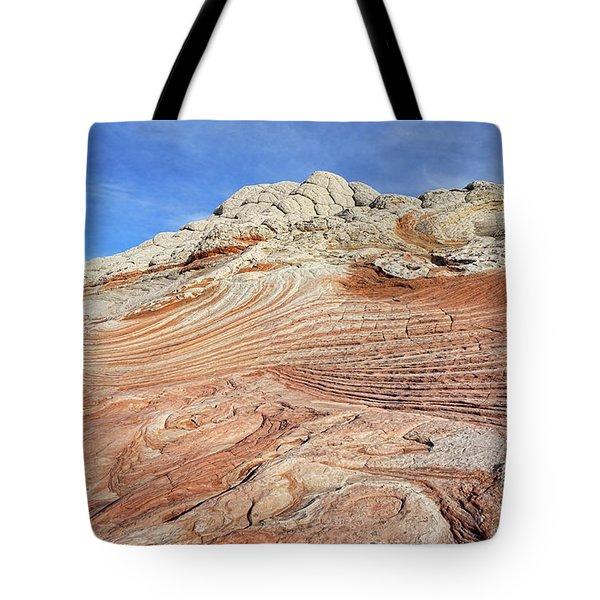 Solid Waves Pano Tote Bag