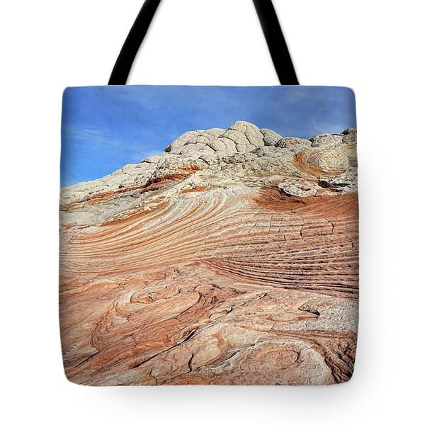 Solid Waves Pano Tote Bag