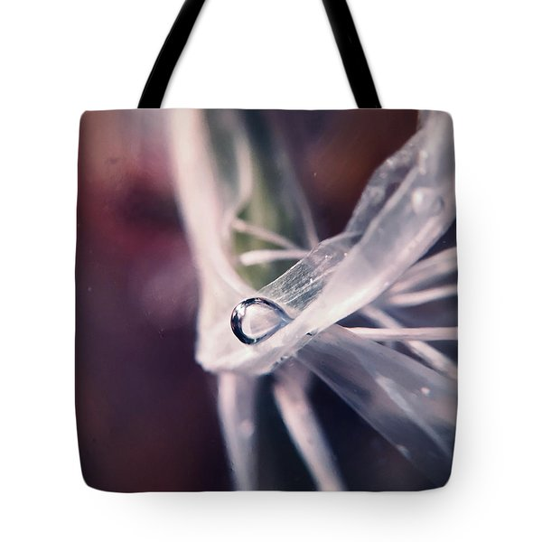 Sometimes The Alien Comes By, We Get Along Tote Bag