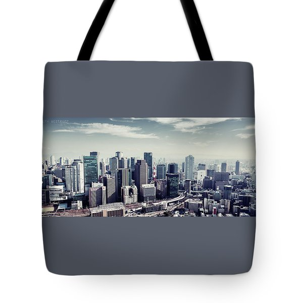 Somewhere In Japan Tote Bag