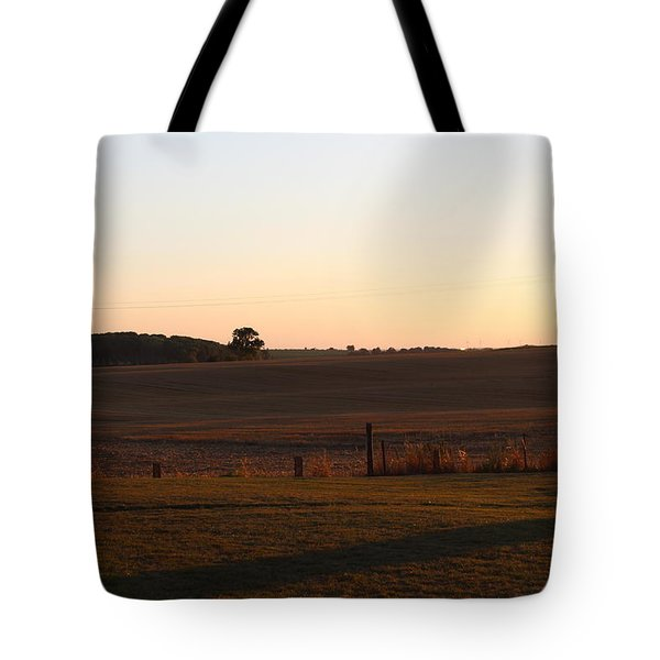Somme Sunset Tote Bag