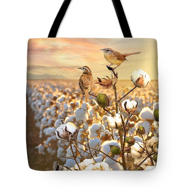 Song Of The Wren Tote Bag