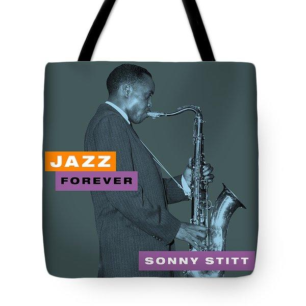 Sonny Stitt - Jazz Forever Tote Bag