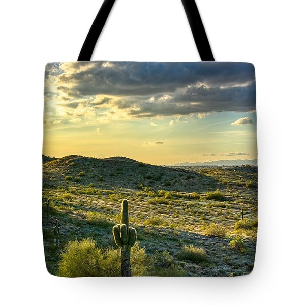 Sonoran Desert Portrait Tote Bag