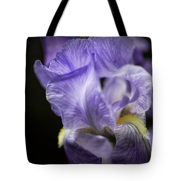 Soul Blossom - Blue Bearded Iris  Tote Bag