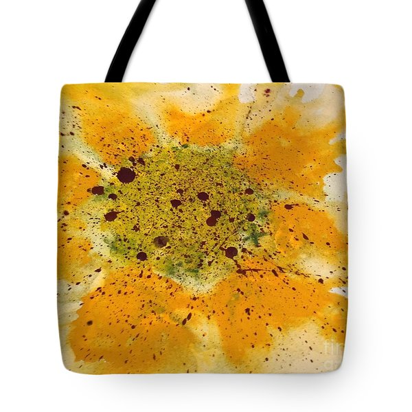 Tote Bag featuring the painting Soul Melt by Annie Young Arts