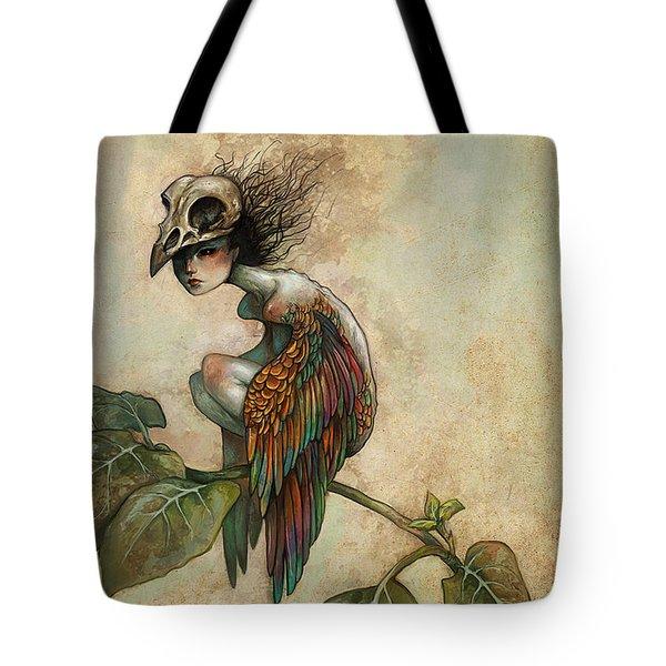 Soul Of A Bird Tote Bag