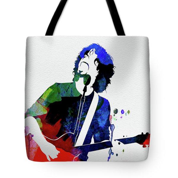 Soundgarden Watercolor Tote Bag