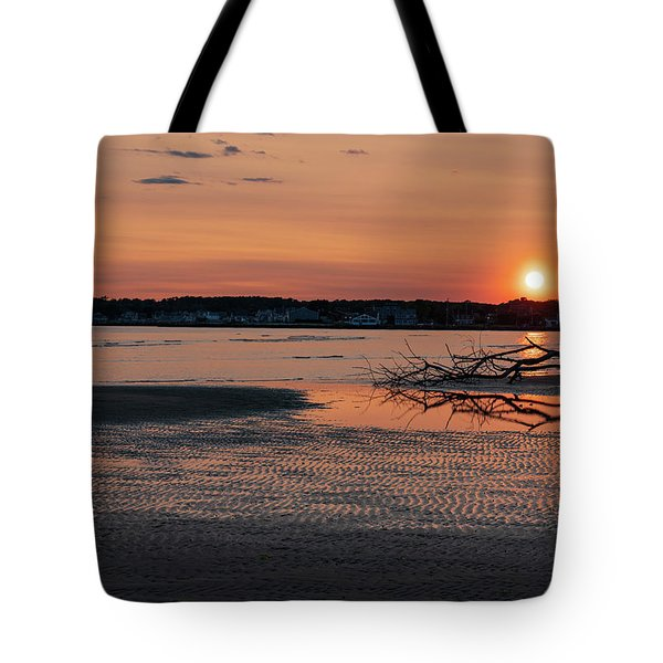Soundview Sunset Tote Bag