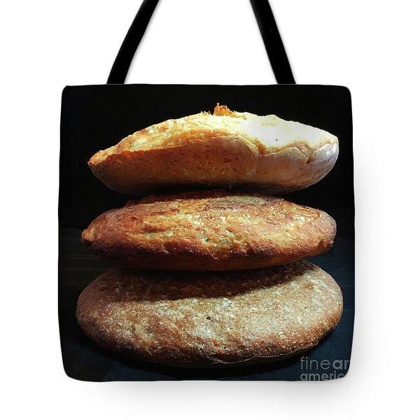 Sourdough Bread Stack 1 Tote Bag