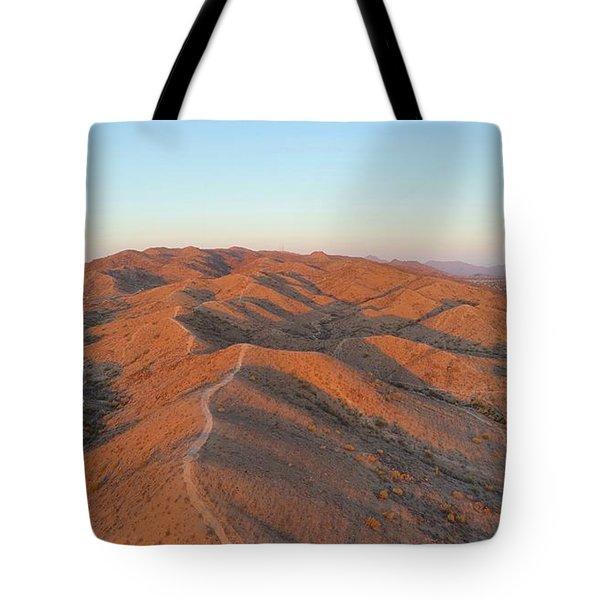 South Mountain Sunrise Tote Bag