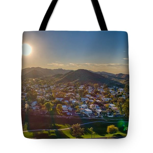 South Mountain Sunset Tote Bag