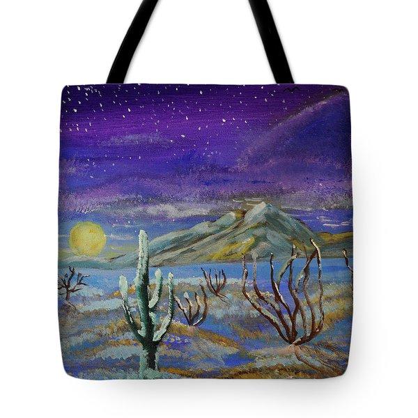 Southern Arizona Winter Magic  Tote Bag