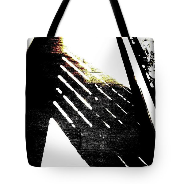Tote Bag featuring the photograph Southern Exposure Abstract by VIVA Anderson