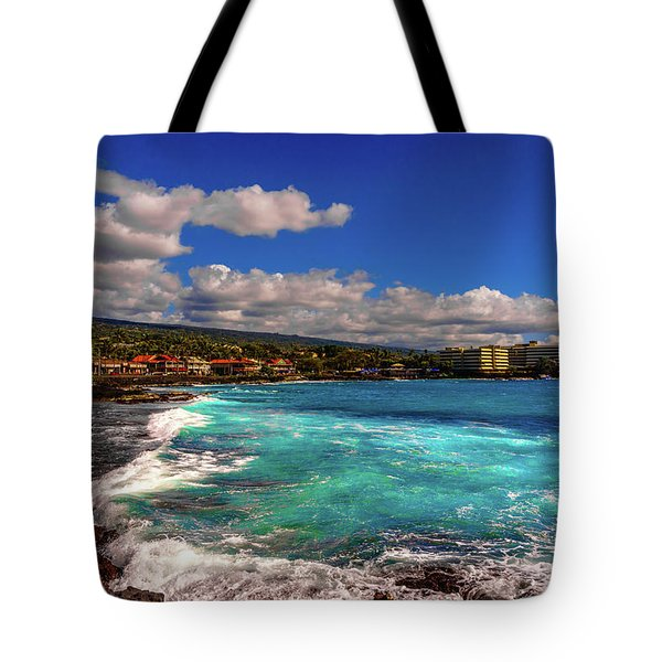 Southern View Of The Shore Tote Bag