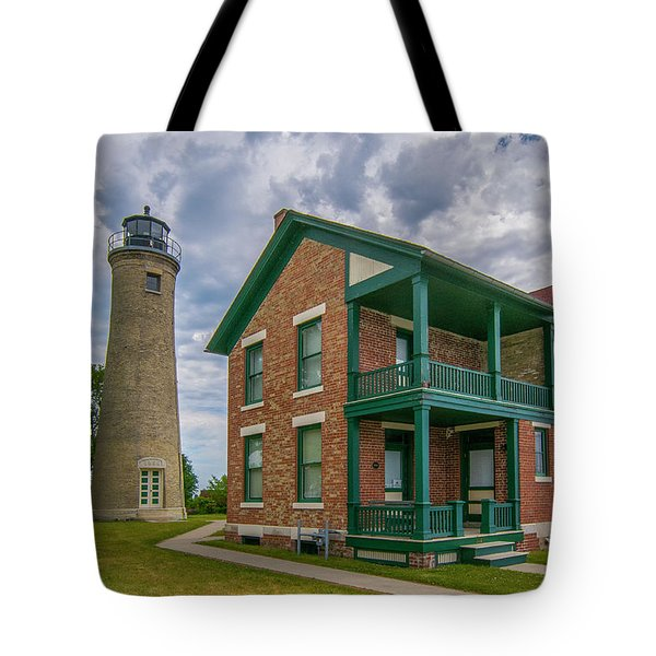 Southport Lighthouse  Tote Bag