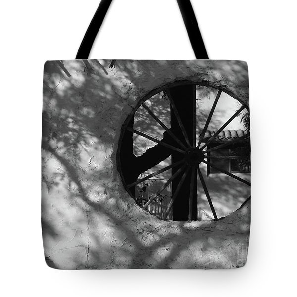 Tote Bag featuring the photograph Southwest Walls by PJ Boylan