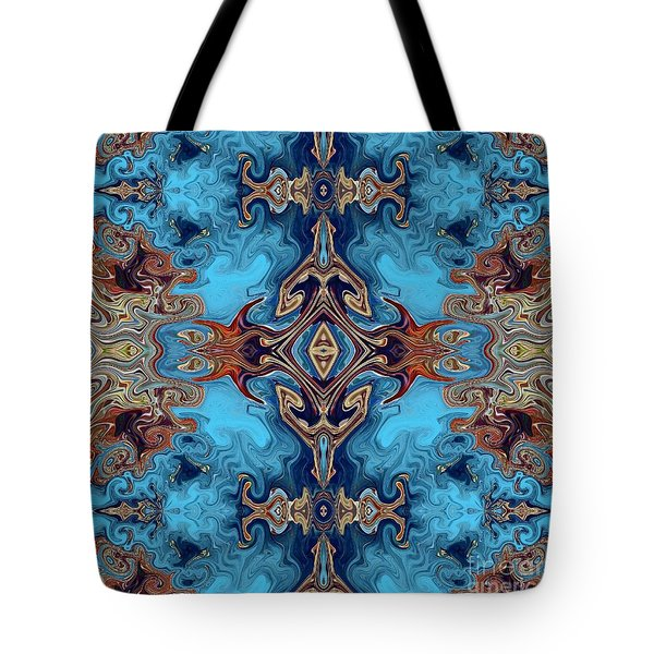 Tote Bag featuring the digital art Soy Un Moresco  by A zakaria Mami