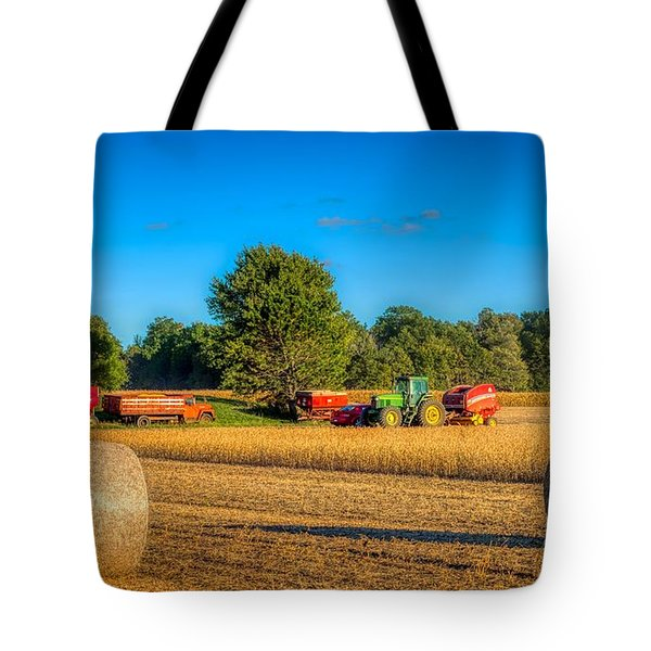 Soybean Harvest Tote Bag