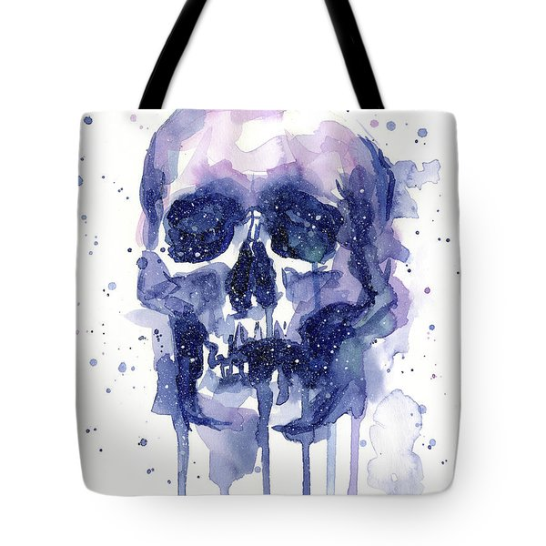 Space Skull Tote Bag