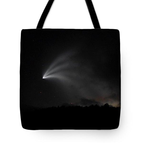 Space X Rocket Tote Bag
