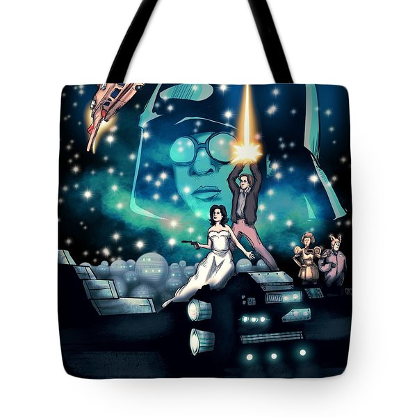 Spaceballs The Movie Poster Tote Bag