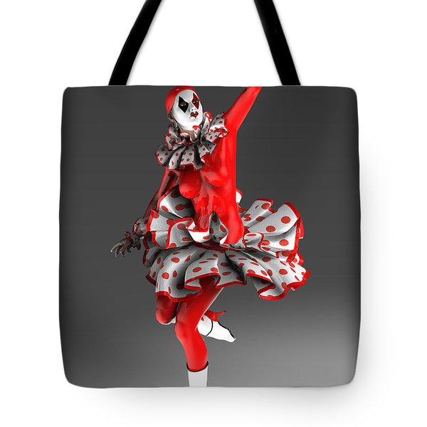 Spanish Pierrette Tote Bag