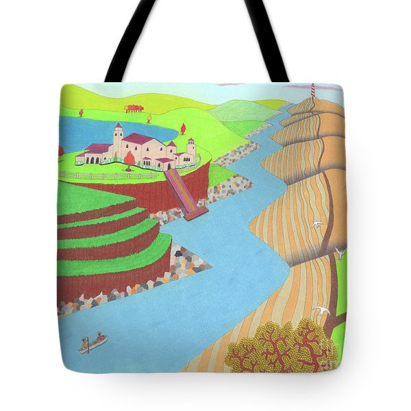 Spanish Wells Tote Bag