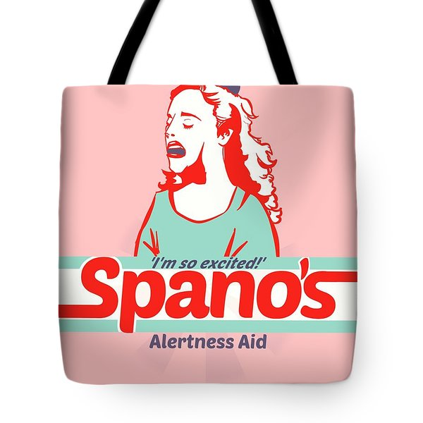 Spano's Alertness Aid Tote Bag
